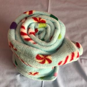 christmas tree shop Other - Super soft Fleece Throw blanket candy cane